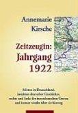Zeitzeugin Jahrgang 1922