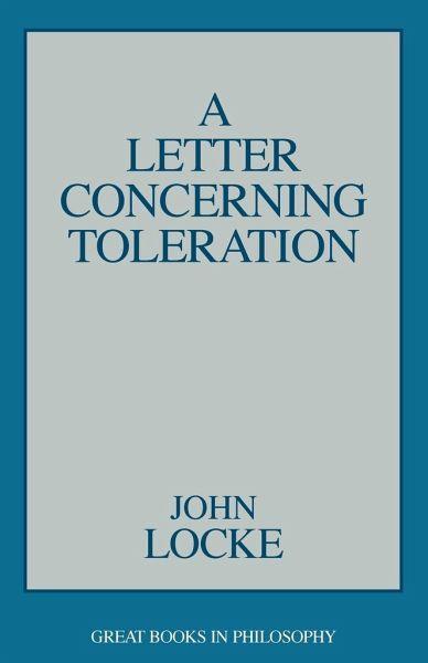 locke an essay concerning toleration