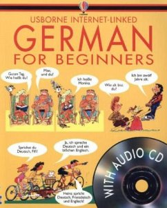 German for Beginners. With Audio-CDs - Wilkes, Angela