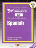 Spanish (Language and Culture) *includes CD: Passbooks Study Guide