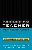 Assessing Teacher Performance