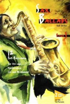 Sax Ballads, m. 2 Audio-CDs