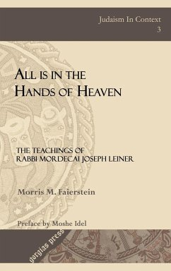 All is in the Hands of Heaven