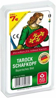 Altenburger ASS 70036 - Tarock / Schafkopf bayerisches Bild, im Kunstsoffetui