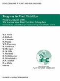 Progress in Plant Nutrition: Plenary Lectures of the XIV International Plant Nutrition Colloquium