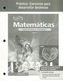 Mathematics: Applications and Concepts, Course 1, Spanish Practice Skills Workbook