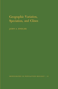 Geographic Variation, Speciation and Clines. (MPB-10), Volume 10 - Endler, John A.