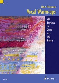 Vocal warm-ups - Heizmann, Klaus