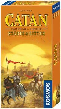 Kosmos 6955140 - Catan: Städte & Ritter, 5 - 6 Spieler, Erweiterung