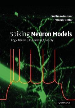 Spiking Neuron Models - Gerstner, Wulfram (Ecole Polytechnique Federale de Lausanne); Kistler, Werner M. (Erasmus Universiteit Rotterdam)