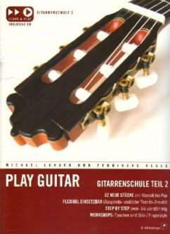 Play Guitar, Gitarrenschule, m. Audio-CD