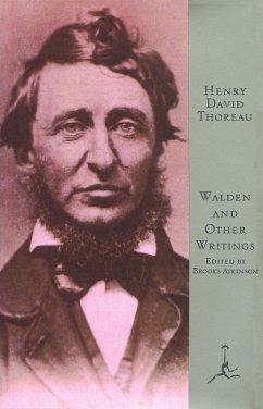 Mod Lib Walden & Other Writings - Thoreau, Henry David