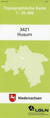 Husum 1 : 25 000. (TK 3421/N)