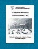 Woldemar Hartmann Erinnerungen 1874-1962