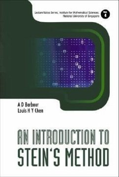 9789812563309 - Chen, Louis Barbour, A. D.: An Introduction to Stein's Method - Book