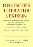 Deutsches Literatur-Lexikon. Siebenundzwanzigster Band