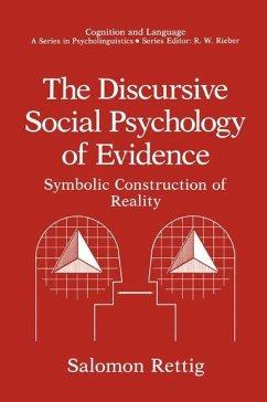 The Discursive Social Psychology of Evidence - Rettig, Salomon