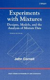 Experiments with Mixtures: Designs, Models, and the Analysis of Mixture Data