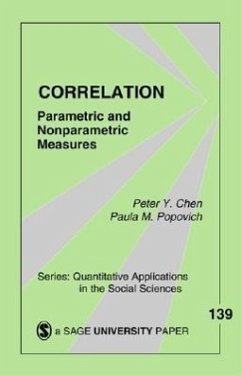 Correlation: Parametric and Nonparametric Measures - Chen, Peter Y.; Popovich, Paula M.