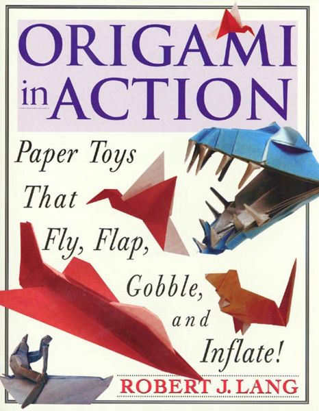 origami in action paper toys that fly flag gobble and