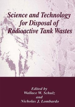 Science and Technology for Disposal of Radioactive Tank Wastes - Shulz, Wallace W. / Lombardo, Nicholas J. (eds.)