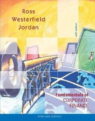 fundamentals of corporate finance ross westerfield jordan 9th edition Essentials of corporate finance, second edition by stephen a ross, randolph  w westerfield, and bradford d jordan copyright © 1999 by the mcgraw-hill.