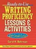 Ready-To-Use Writing Proficiency Lessons & Activities