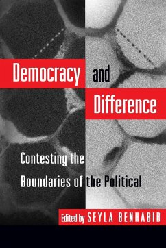 Democracy and Difference - Benhabib, Seyla (ed.)