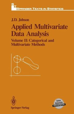 Applied Multivariate Data Analysis - Jobson, J. D.