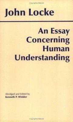 An Essay Concerning Human Understanding - Locke, John