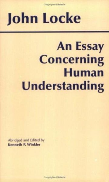 john locke an essay on human understanding pdf