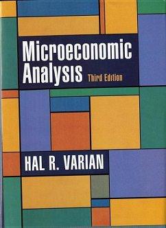 Microeconomic Analysis - Varian, Hal R.