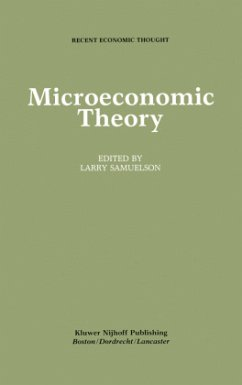 Microeconomic Theory - Samuelson, Larry (Hrsg.)
