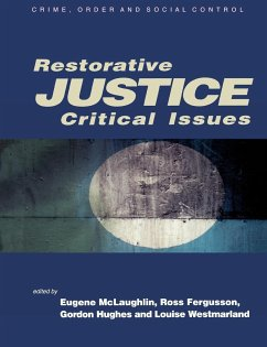 Restorative Justice - McLaughlin, Eugene / Fergusson, Ross / Hughes, Gordon / Westmarland, Louise