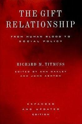 titmuss gift relationship essay