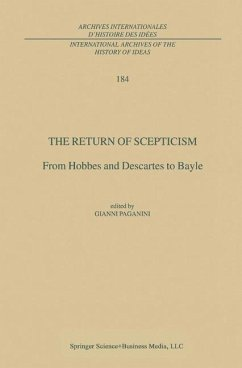 The Return of Scepticism - Paganini, G. (ed.)