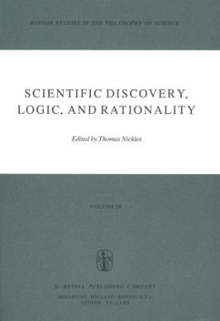 Scientific Discovery, Logic, and Rationality - Nickles, T. (Hrsg.)