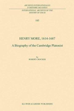 Henry More, 1614-1687 - Crocker, R.