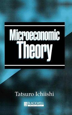 Microeconomic Theory - Ichiishi, Tatsuro; Ichiishi