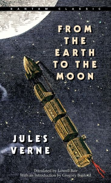 an analysis of the book from the earth to the moon and around the moon by jules verne Buy from the earth to the moon reissue by jules verne (isbn: 9780553214208) from amazon's book store everyday low prices and free delivery on eligible orders.