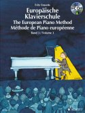 Europäische Klavierschule, Deutsch-Englisch-Französisch, m. Audio-CD\The European Piano Method\Methode de Piano europeenne
