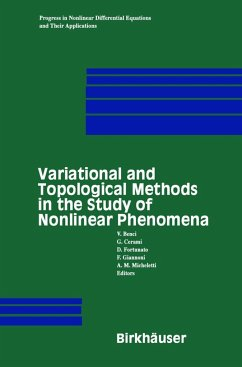 Variational and Topological Methods in the Study of Nonlinear Phenomena - Benci, V. / Cerami, G. / Degiovanni, M. / Fortunato, D.