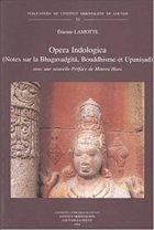 FRE-OPERA INDOLOGICA (NOTES SU: Avec Une Nouvelle Preface de Minoru Hara (Publications De L'Institut Orientaliste De Louvain, Band 53)