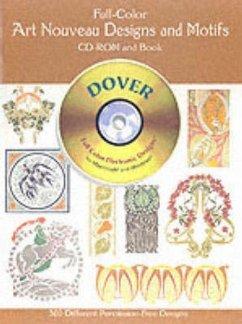 Full-Color Art Nouveau Designs and Motifs CD-RO...