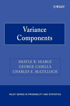 Variance Components - Searle, Shayle R.; Casella, George; Mcculloch, Charles E.