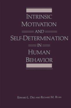 Intrinsic Motivation and Self-Determination in Human Behavior - Deci, Edward L.;Ryan, Richard M.