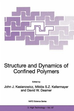 Structure and Dynamics of Confined Polymers - Kasianowicz, John J. / Kellermayer, M. / Deamer, David W. (Hgg.)
