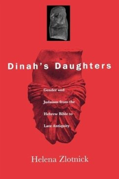 Dinah's Daughters: Gender and Judaism from the Hebrew Bible to Late Antiquity - Zlotnick, Helena