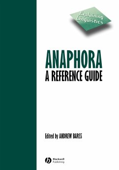 Anaphora - Barss