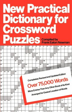 New Practical Dictionary for Crossword Puzzles - Newman, Frank Eaton